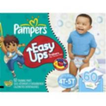 Pampers Easy Ups Boy Trainers Super Pack Size 6 S4T/5T