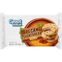 Great Value Pecan Shortbread Cookies