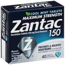Zantac 150 Maximum Strength Cool Mint Acid Reducer