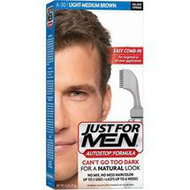 Just for Men Auto Stop Haircolor Light-Medium Brown A-30