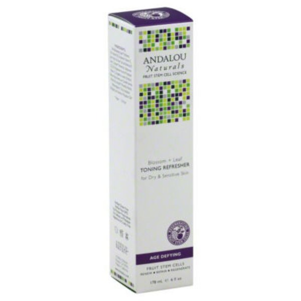 Andalou Naturals Blossom + Leaf Toning Refresher Age Defying