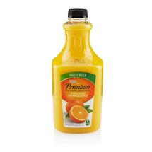 Great Value 100% Pure High Pulp Orange Juice