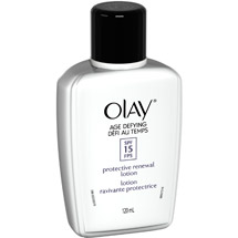 Olay Age Defying Protective Renewal Lotion With Sunscreen Broad Spectrum SPF 15 Facial Moisturizer