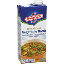 Swanson 100% Natural Vegetable Broth