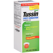 Perrigo Adult Tussin Chest Congestion