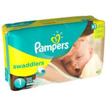 Pampers Swaddlers Diapers Size 1