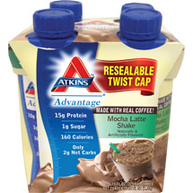 Atkins Advantage Mocha Latte 4 pk