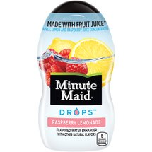 Minute Maid Drops Raspberry Lemonade Flavored Water Enhancer