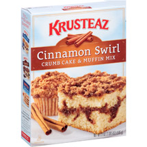 Krusteaz Cinnamon Crumb Cake Supreme Mix