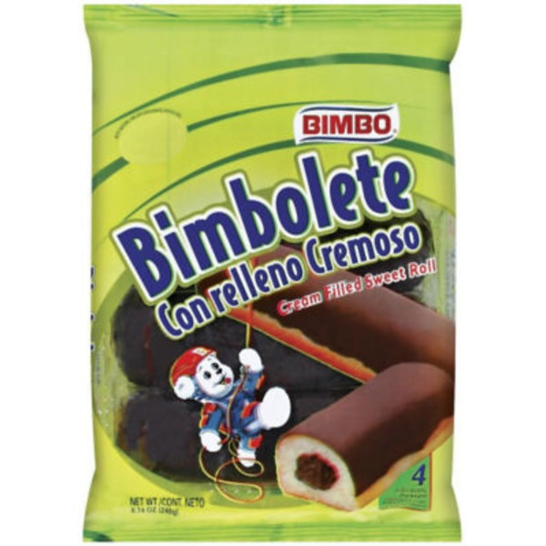 Bimbo Nito Cream Filled Sweet Rolls