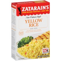 Zatarain's New Orleans Style Yellow Rice Side Dish