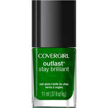 CoverGirl Outlast Stay Brilliant Nail Gloss 50 Emerald Blaze