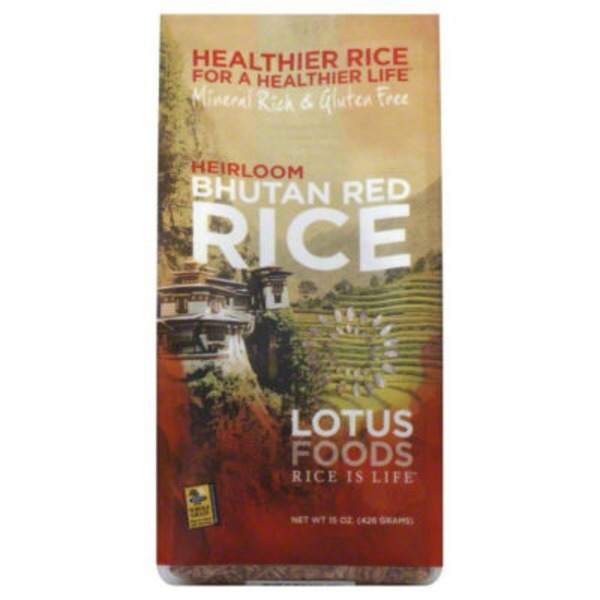 Lotus Foods Organic Red Rice