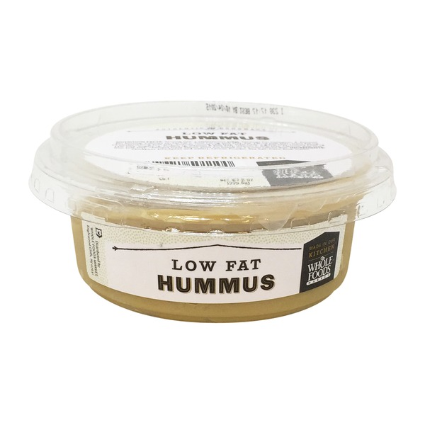 Whole Foods Market Low Fat And Low Salt Hummus