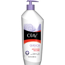 Olay Quench Daily Lotion Plus Shimmer Body Lotion