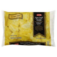 H-E-B Frozen Super Sweet Pineapple Chunks