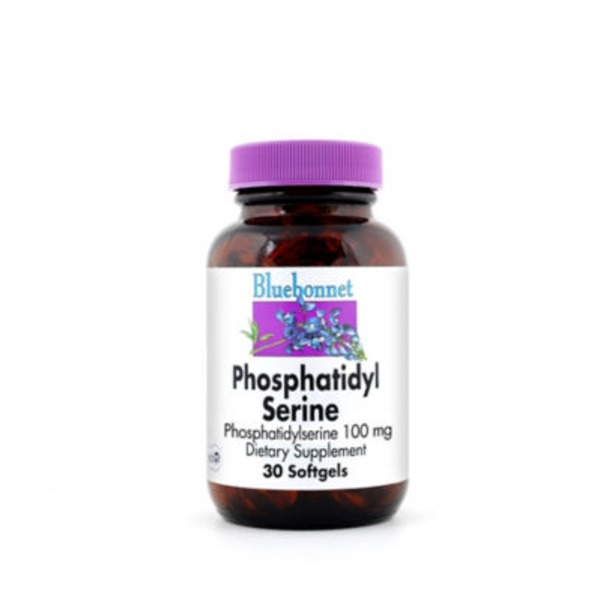 Bluebonnet Phosphatidyl Serine 100 Mg Softgels