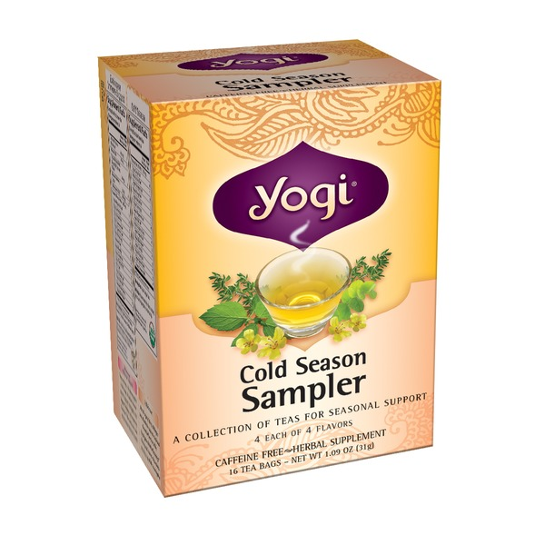 Yogi Cold Season Sampler Tea