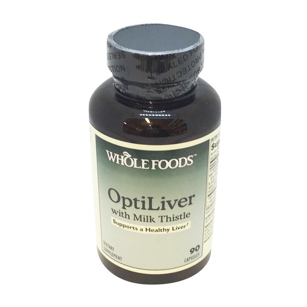 Whole Foods Market Optliver With Milk Thistle