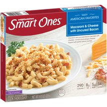 Weight Watchers Smart Ones Smart Creations Bacon Macaroni & Cheese