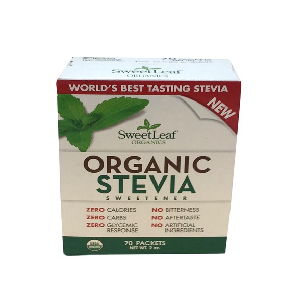 Sweet Leaf Tea Co Organic Stevia Sweetener