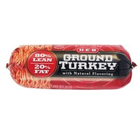 H-E-B Ground Turkey 80% Lean 20% Fat