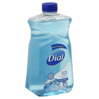 Dial Liquid Hand Soap Antibacterial Spring Water with Moisturizer Refill Hand Soap