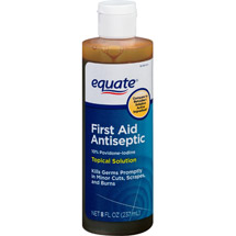Equate Povidone-Iodine Solution 10% Topical Microbicide Antiseptic