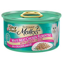 Fancy Feast Elegant Medleys White Meat Chicken Florentine In A Delicate Sauce w/Garden Greens Cat Food