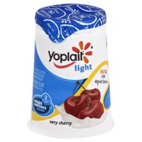 Yoplait Light Very Cherry Fat Free Yogurt