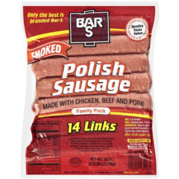 Bar S Smoked Polish Sausage