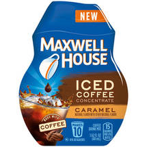 Maxwell House Caramel Iced Coffee Concentrate Drink Mix
