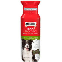 Milk-Bone Good Morning Daily Vitamin Dog Treats Total Wellness