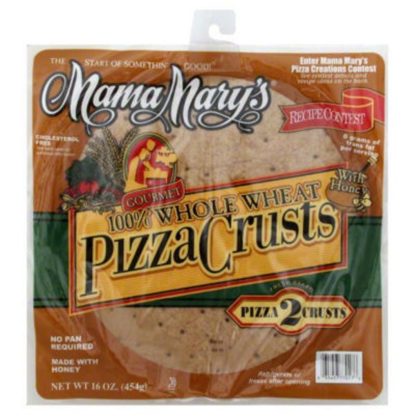Mama Mary's Whole Grain Pizza Crusts