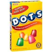Dots Assorted Fruit Flavored Gumdrops