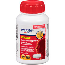 Equate Extra Strength Acetaminophen Pain Reliever/Fever Reducer Caplets