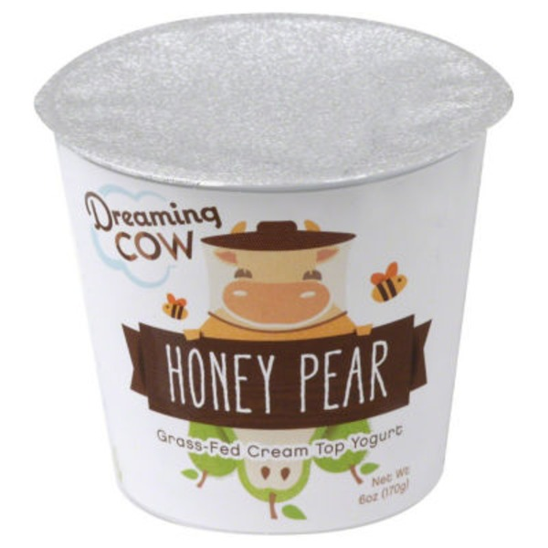 Dreaming Cow Honey Pear Yogurt