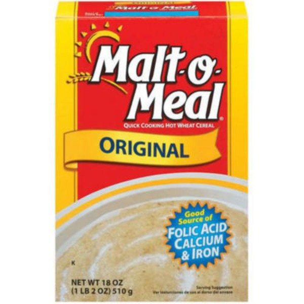 Malt-O-Meal Original Hot Wheat Cereal