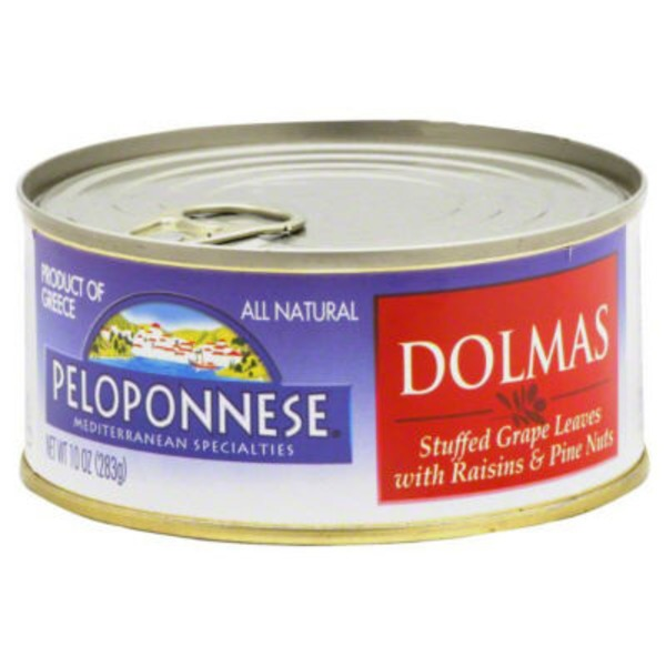 Peloponnese Dolmas with Raisins & Pine Nuts