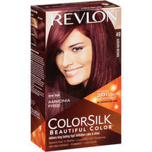 Colorsilk Hair Color Kit Auburn Brown #49