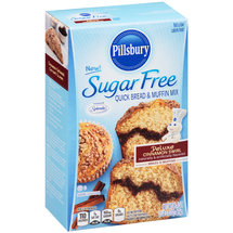 Pillsbury Sugar Free Deluxe Cinnamon Swirl Quick Bread & Muffin Mix