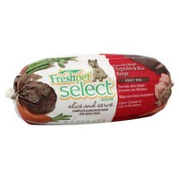 Freshpet Chunky Beef with Vegetables & Brown Rice Dog Food