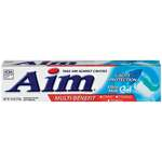 Aim Multi-Benefit Cavity Protection Ultra Mint Gel Toothpaste