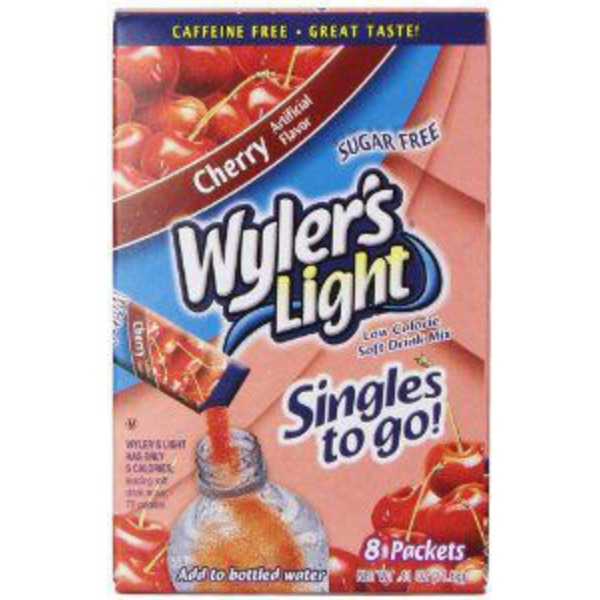 Wyler's Light Singles Cherry