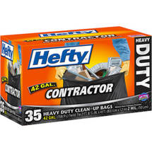 Hefty Contractor Heavy Duty Clean-Up Bags
