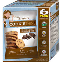 Mrs. Thinster's Cookie Thins Chocolate Chip Cookies