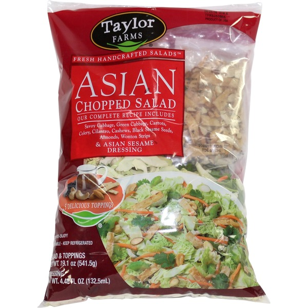 Costco Delivery From Store: Taylor Farms Asian Cashew Chopped Salad From Costco In