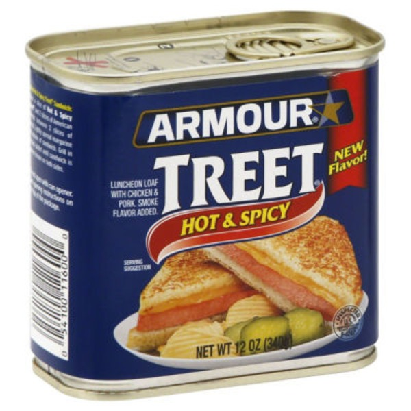 Armour Hot & Spicy Luncheon Loaf