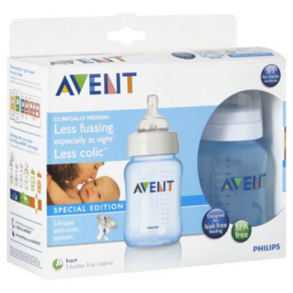 Avent Special Edition 9 Oz Bottles (1+ Months)