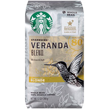 Starbucks Blonde Veranda Blend Whole Bean Coffee